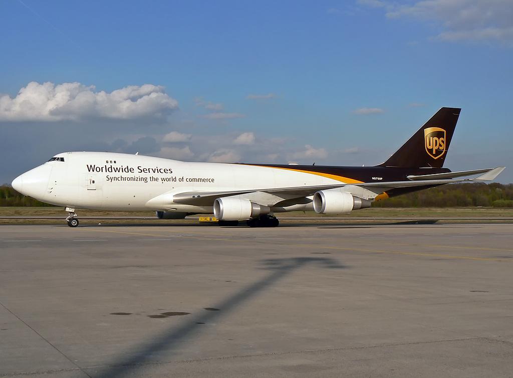 United Parcel Service (UPS) Boeing 747-44AF(SCD) N575UP #2
