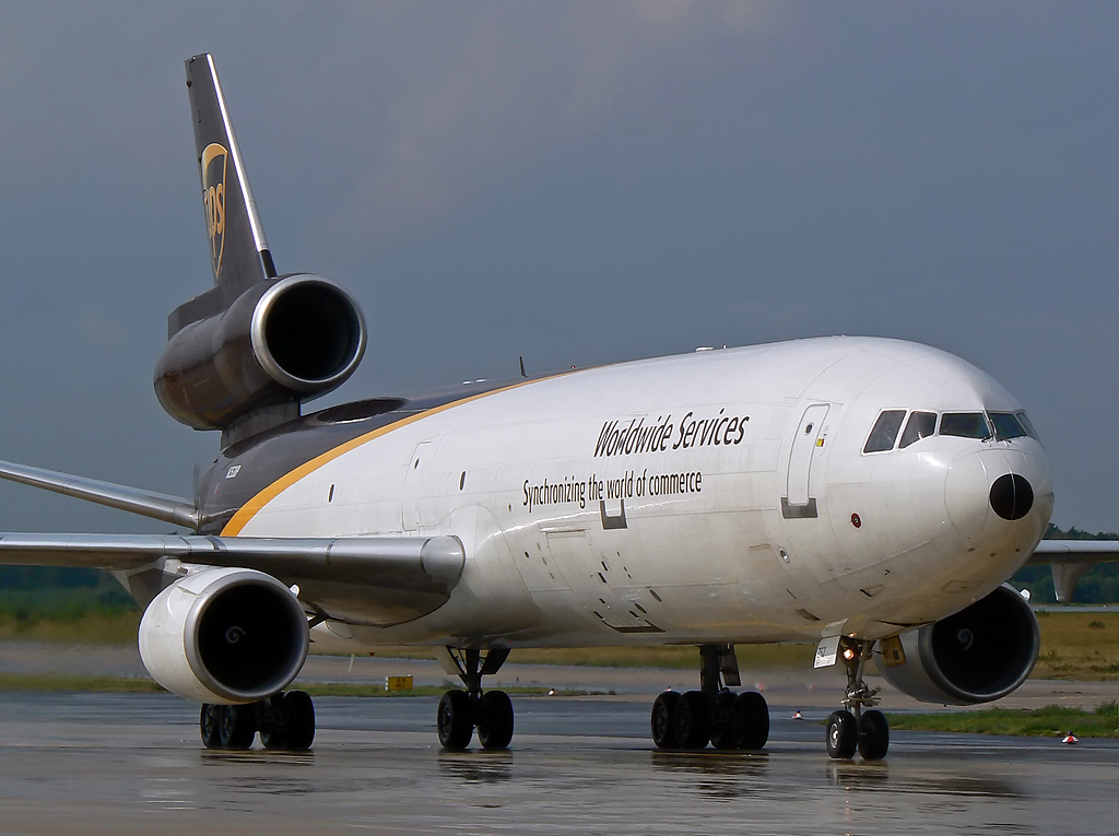 United Parcel Service (UPS) McDD MD-11F N252UP