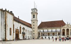 Universidade de Coimbra - Patio das Escolas
