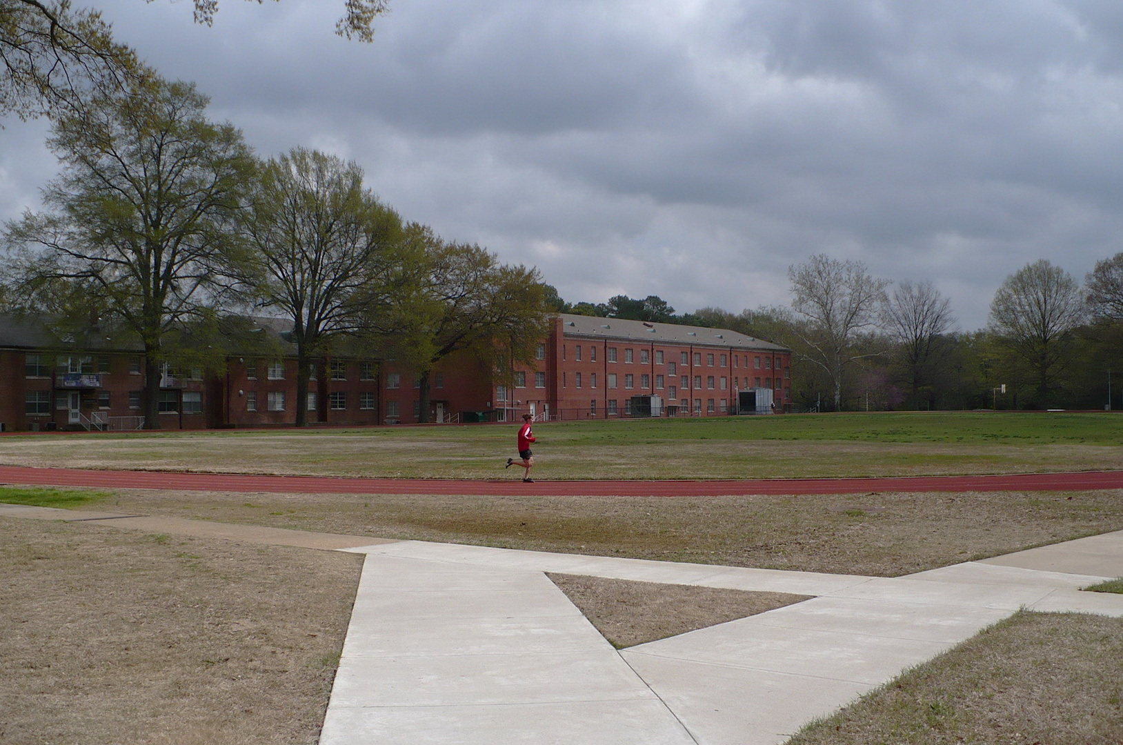 University of Memphis Campus Field - About to rain but the COLORS were amazing then