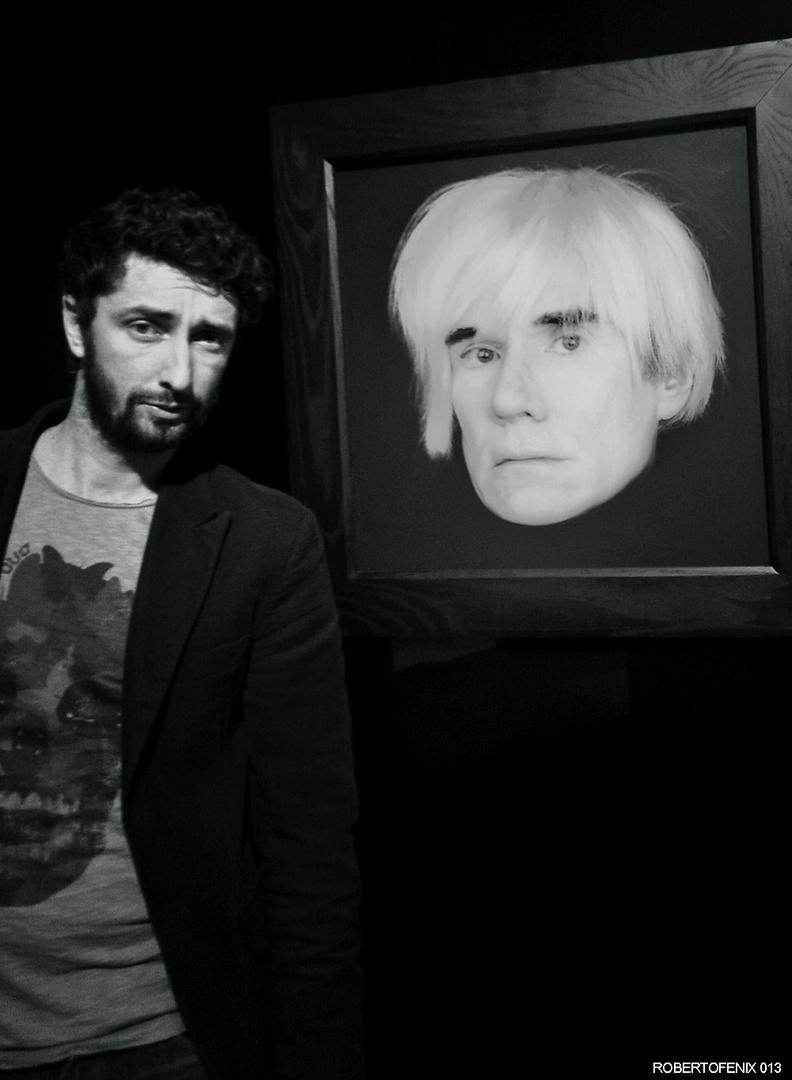 Uno e' un artista, l'altro ha la barba.