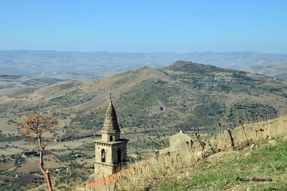 Uno scorcio di centro Sicilia.