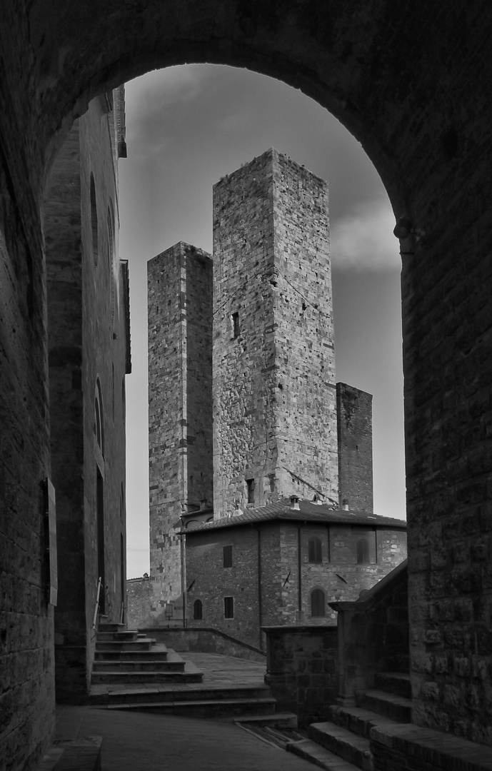 Uno scorcio di San Gimignano