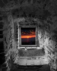 uno sguardo dalla finestra
