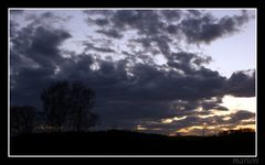 unruhige wolken