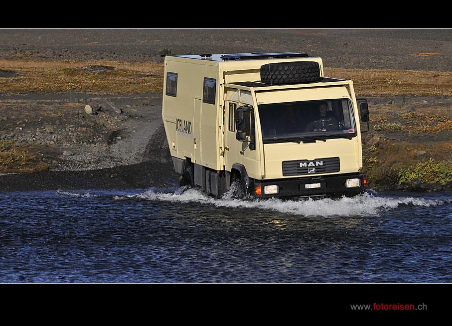Unser 4x4-Truck für Iceland