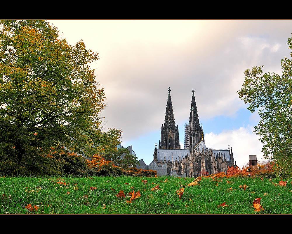 Unser Dom Im Herbst Foto Bild Deutschland Europe Nordrhein Westfalen Bilder Auf Fotocommunity