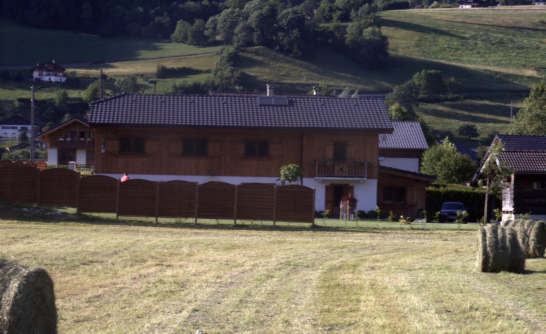 Unser Ferienhaus von 1958 bis 1960...