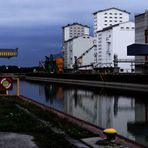 Unser kleiner Hafen Albern bei Wien