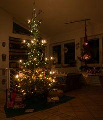unser kleiner Weihnachtsbaum 2018