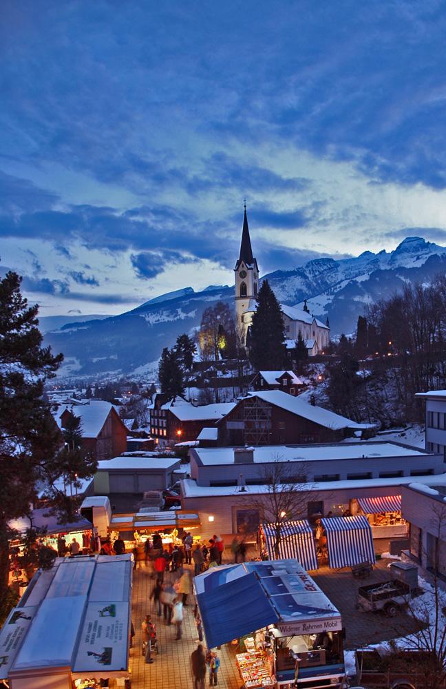 Unser kleiner Weihnachtsmarkt