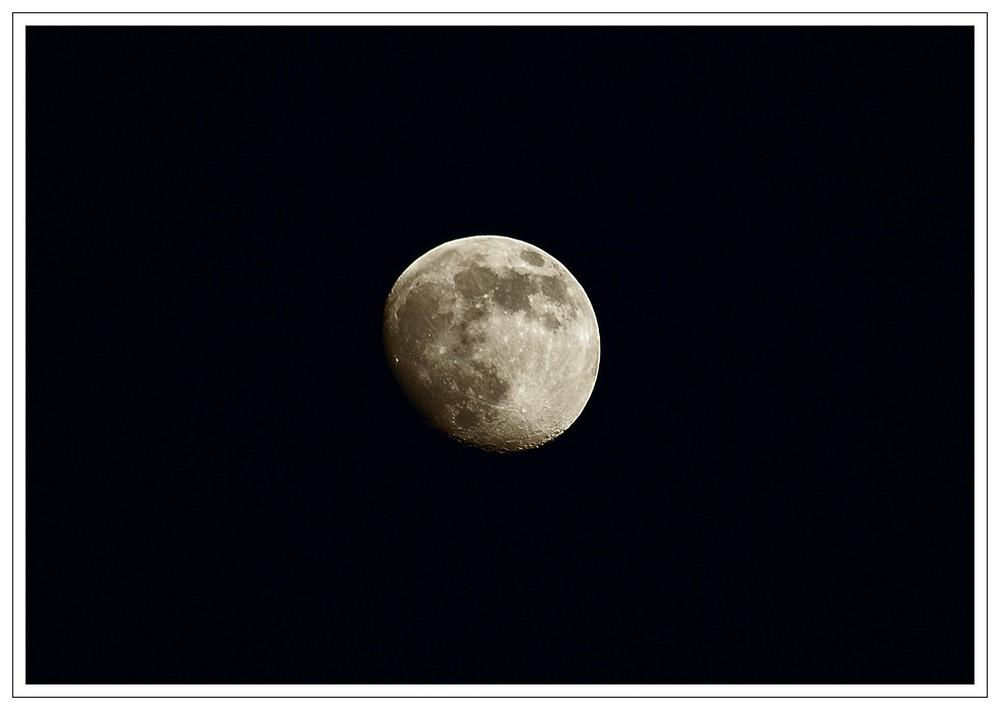 Unser Mond..
