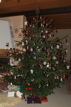 Unser Tannenbaum ohne Licht