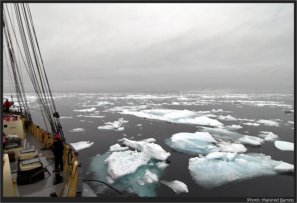 Unser Weg durchs Eis...