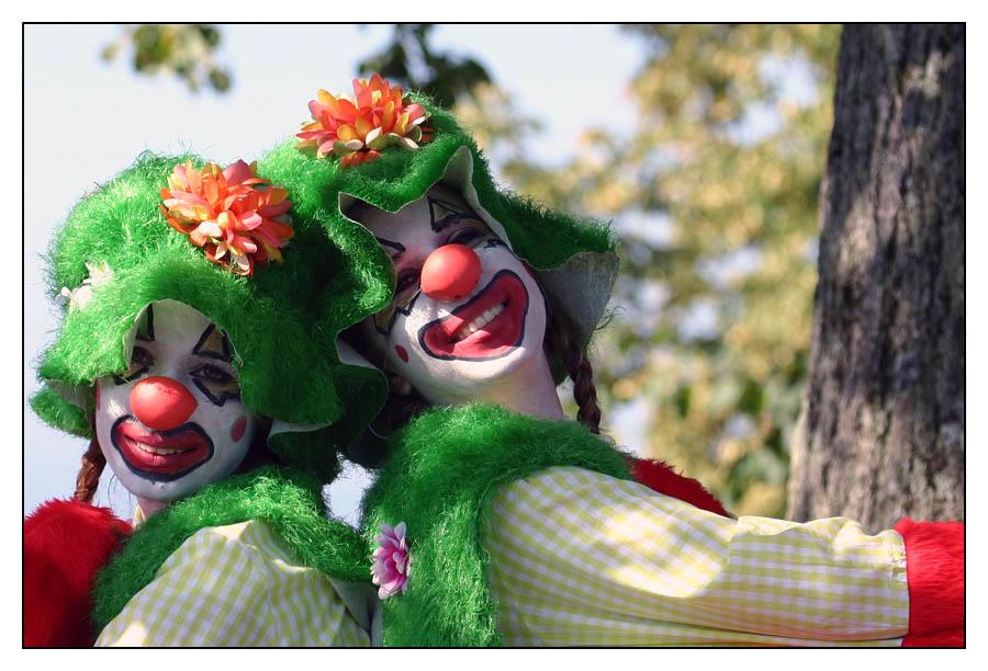 Unsere Clowns