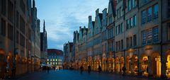 """Unsere """"Gute Stube"""" Der Prinzipalmarkt zur blauen Stunde...#1.581##"""