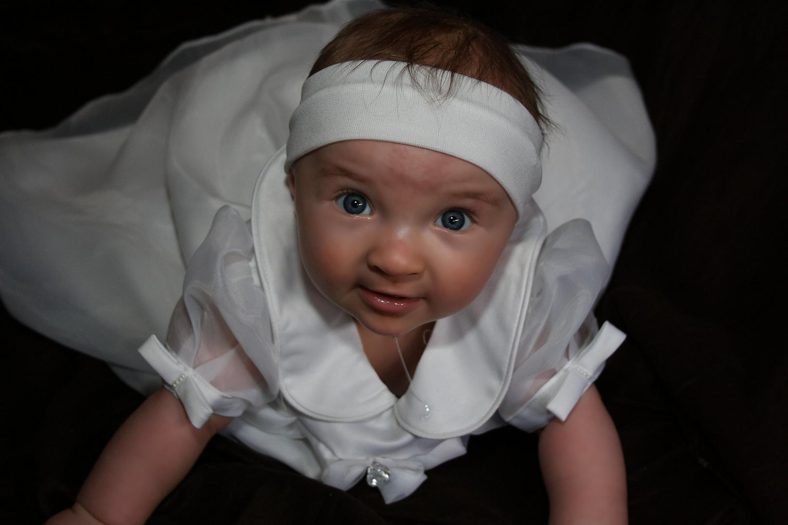 Unsere Prinzessin an Ihrer Taufe