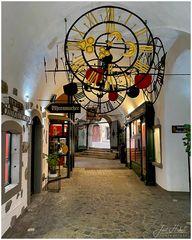 unsere Uhrenpassage in Steyr ...