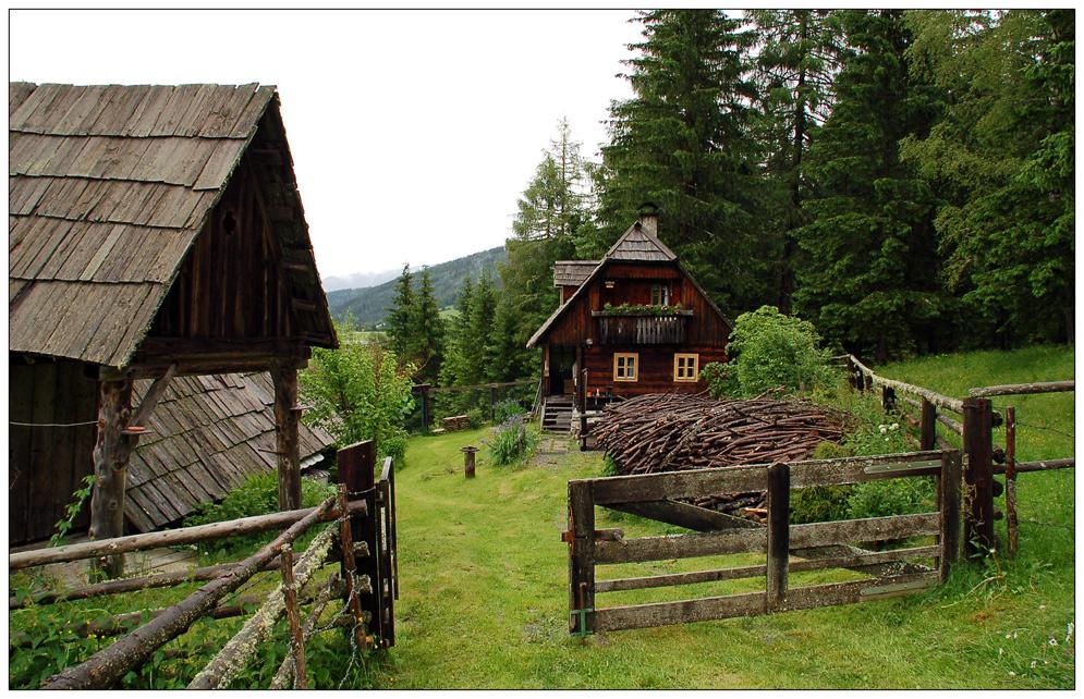 Unsere Urlaubs-Hütte