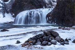 Unspektakulärer Wasserfall...