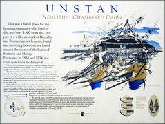 Unstan Erkärungstafel