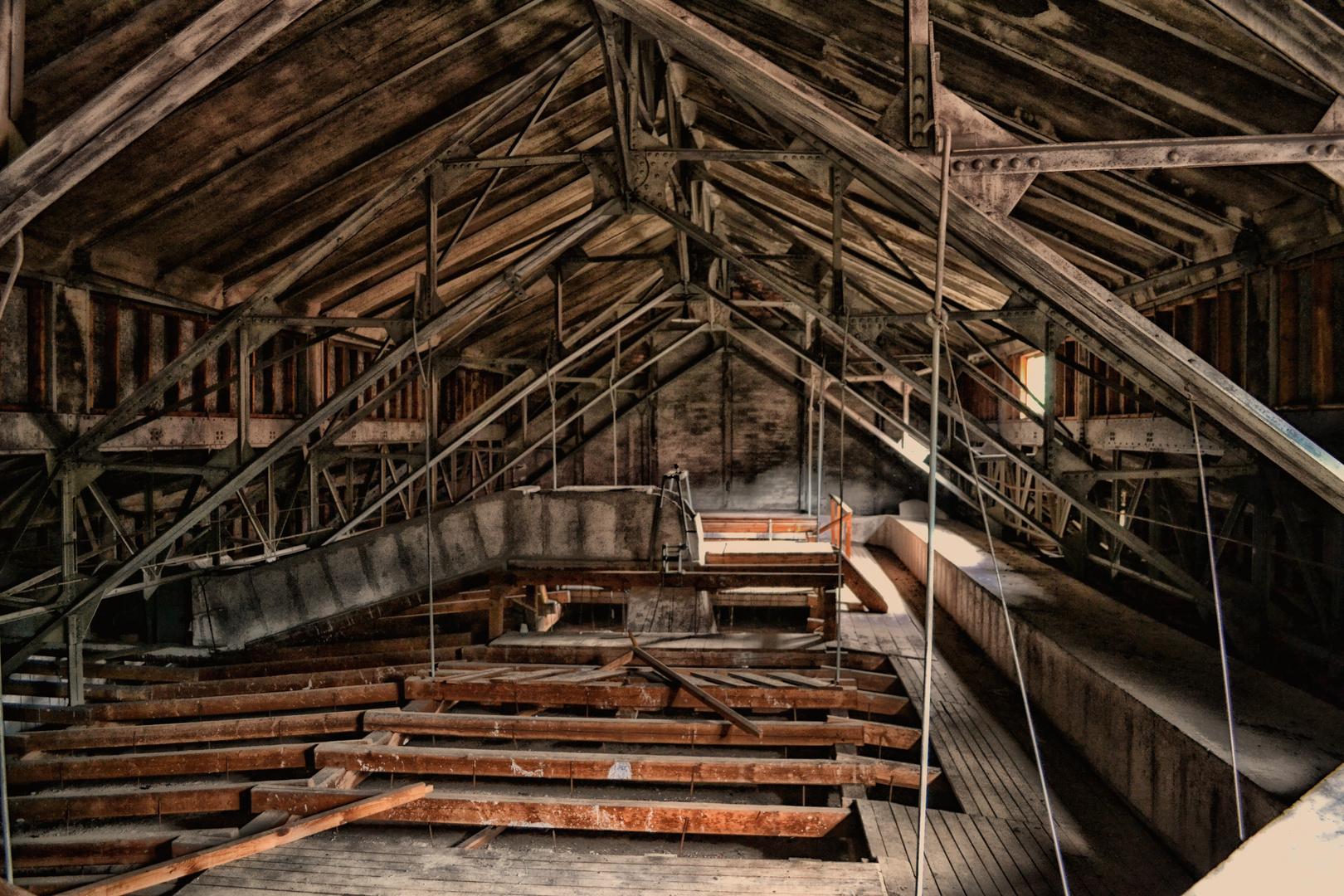Unter dem Dach