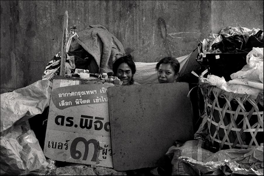 unter dem skytrane von Bangkok -2-