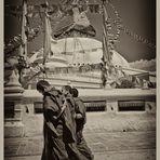 Unter den Augen Buddhas