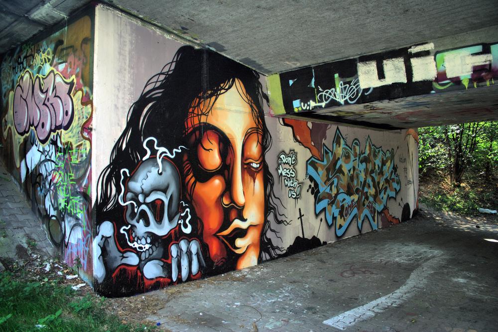 Unter den Brücken von Karlsruhe 6
