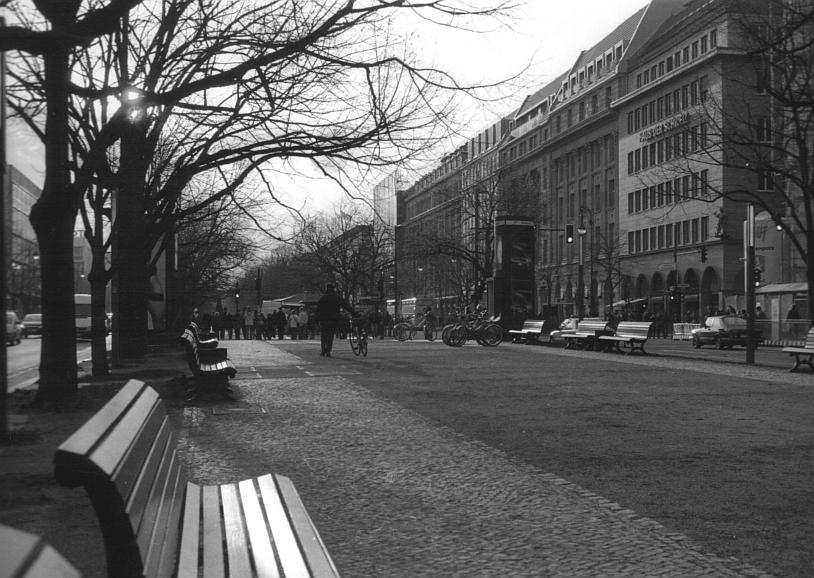 Unter den Linden ...