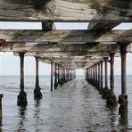 Unter der alten Pier