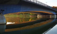 Unter der Brücke...