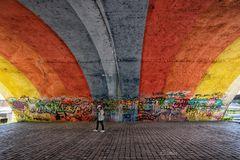 Unter der Regenbogenbrücke