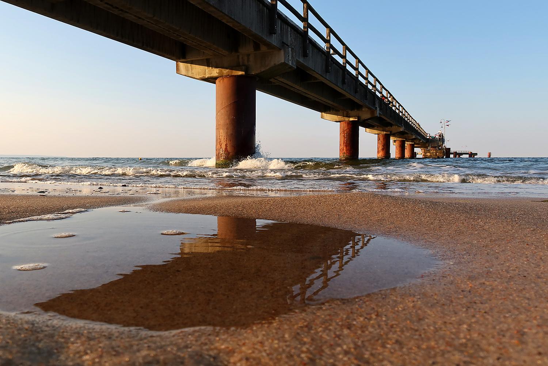 Unter der Seebrücke...