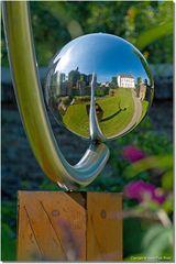 Unter freiem Himmel -Spiegelkugel-