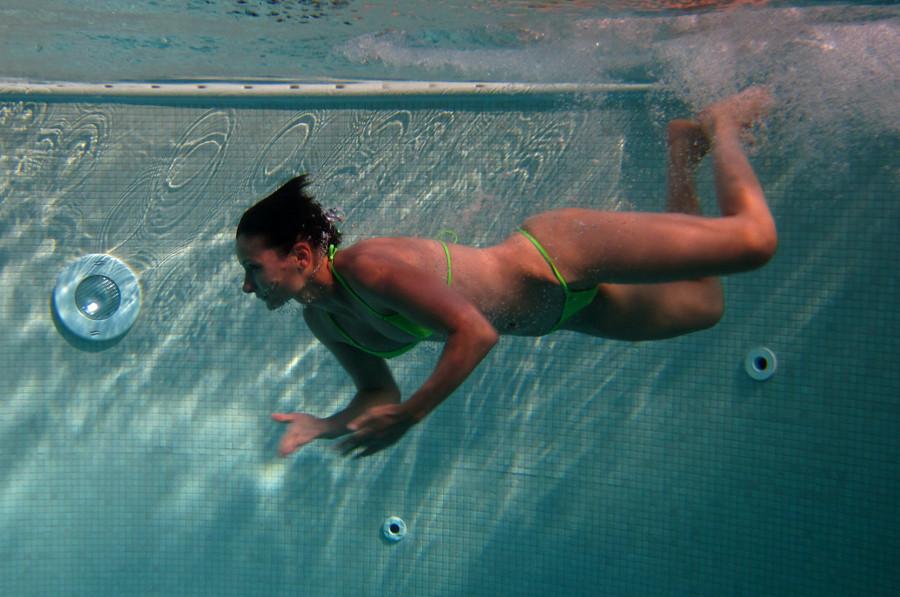 unter Wasser