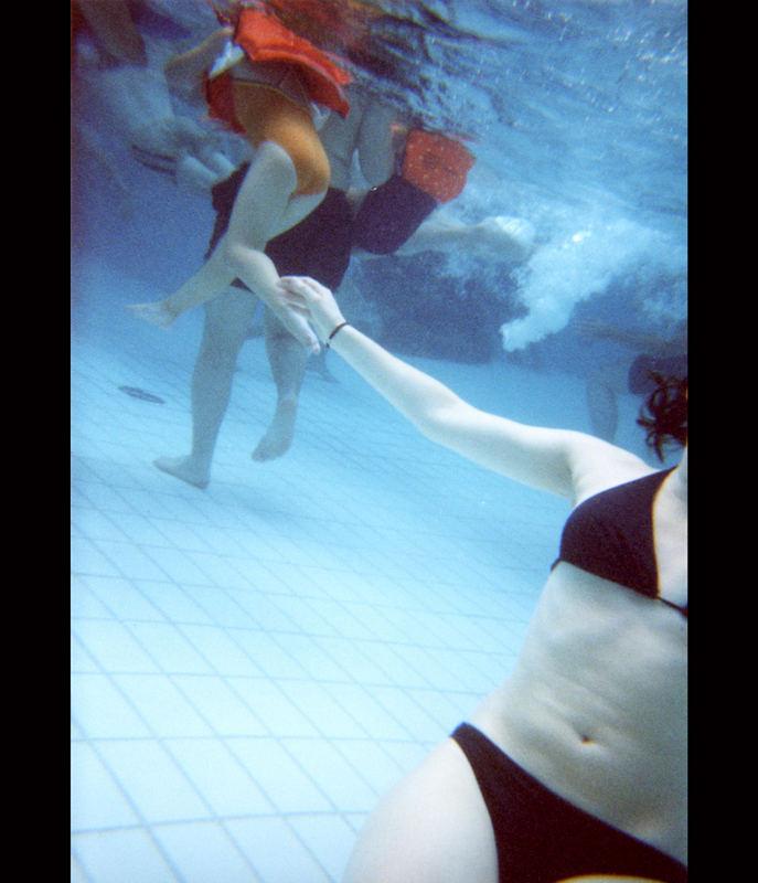 Unter Wasser**