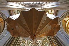 Unteransicht der neuen Orgel mit Blick in die Kuppel St. Lamberti Stadt u. Marktkirche Münster