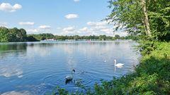 Unterbacher See in Düsseldorf