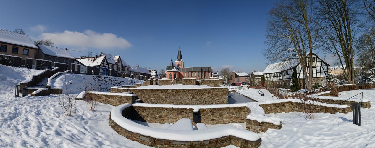 Untere Burg in Rheinbreitbach