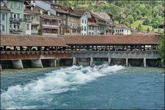 Untere Schleusenbrücke Thun