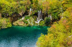 Untere Seen 3, Nationalpark Plitvicer Seen, Kroatien