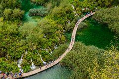 Untere Seen, Nationalpark Plitvicer Seen, Kroatien