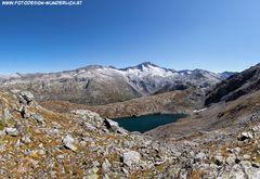 Unterer Schwarzhornsee mit Hochalmspitze
