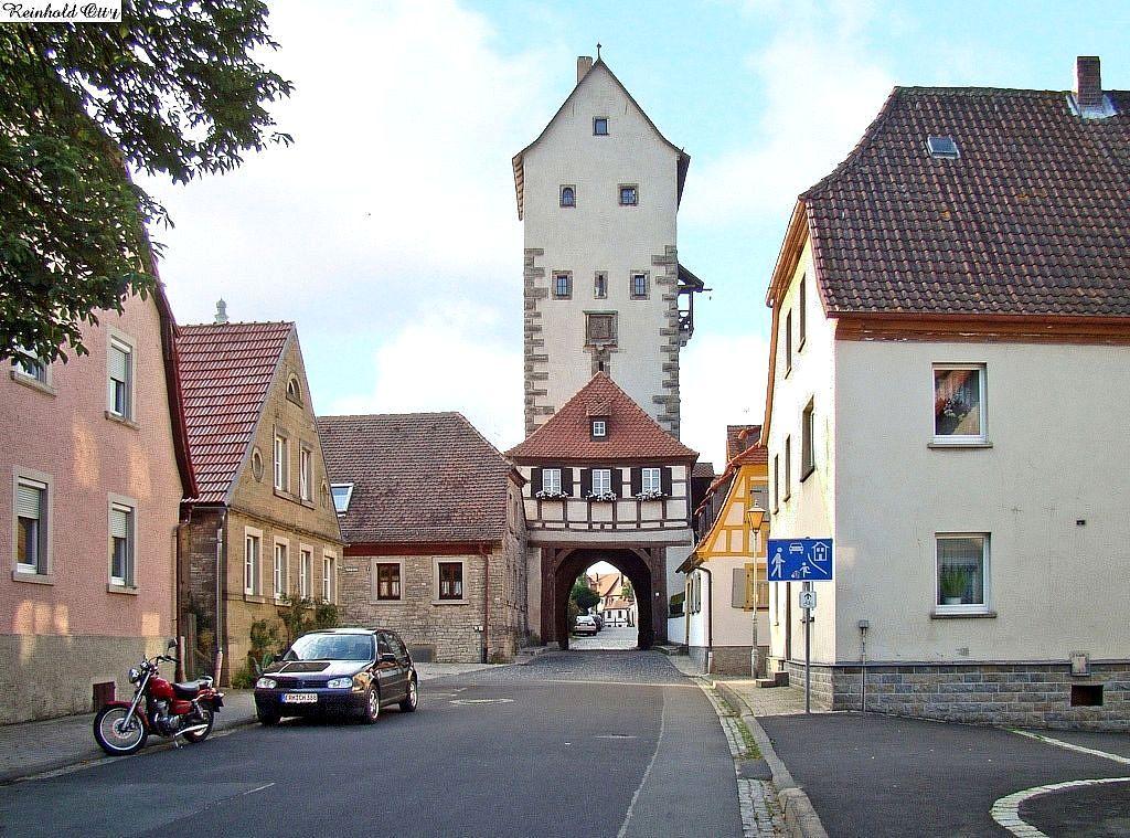 Unteres Tor von Mainbernheim.