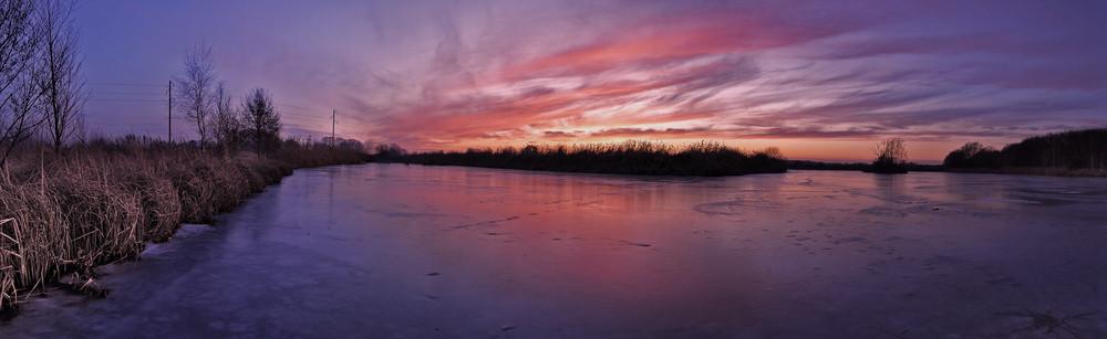Untergang auf dem Eis