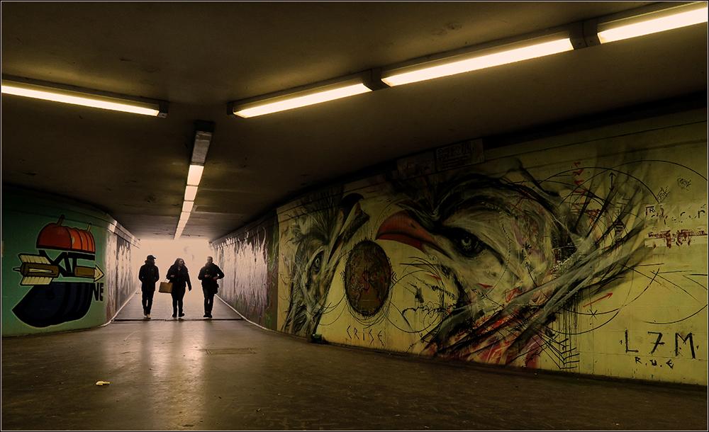 Untergrund . . .