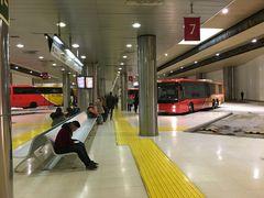 unterirdischer Busbahnhof in Palma