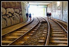 Unterirdischer Hauptbahnhof