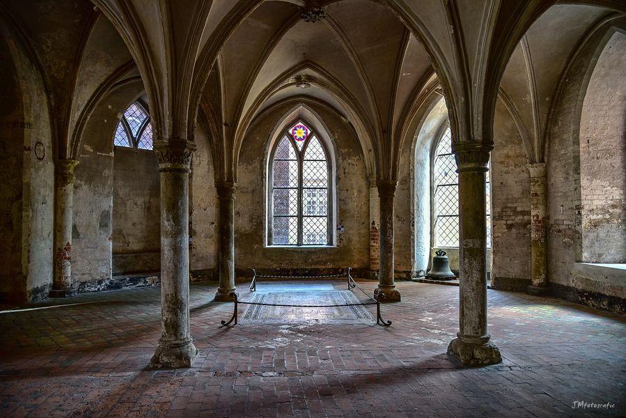 Unterkirche der Katherinenkirche Lübeck.